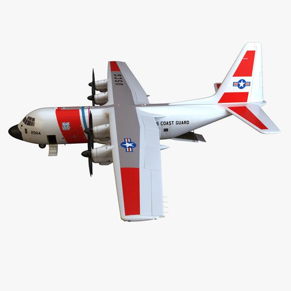 3d model c- hercules coast guard