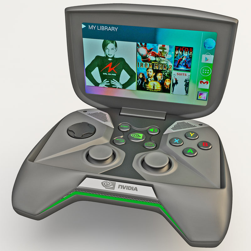 3d portable handheld pc nvidia