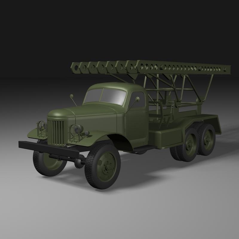 Katyusha B13 Rocket Launcher
