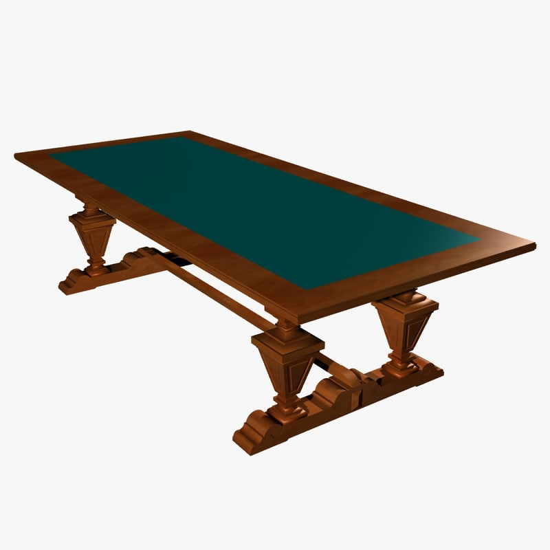 table ic 3d max