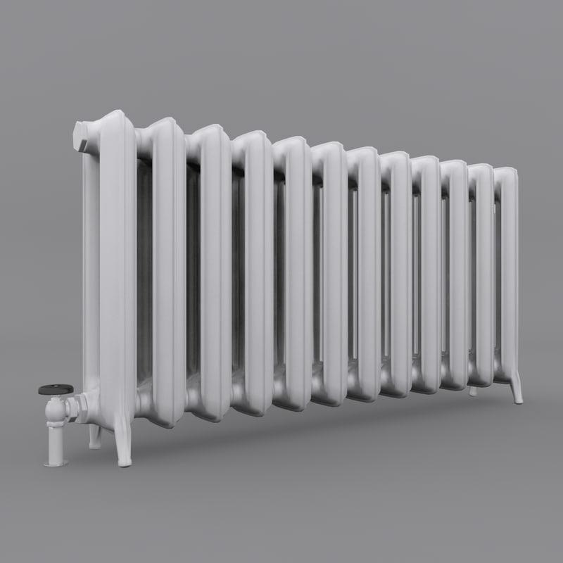 3ds max radiator