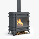 Fireplaces 3D models