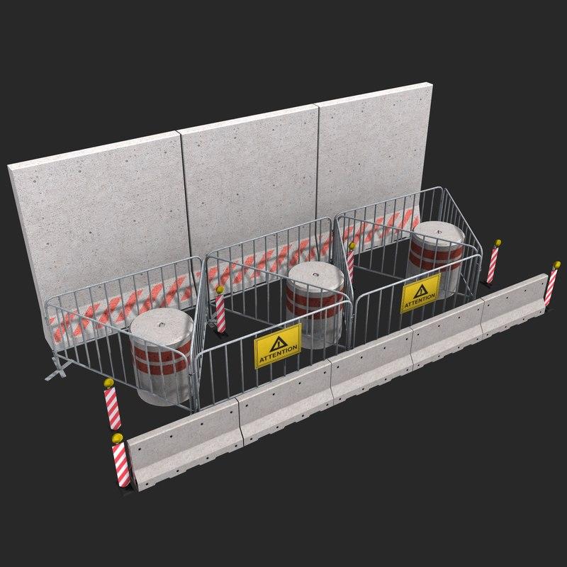 barricade lights dirty max