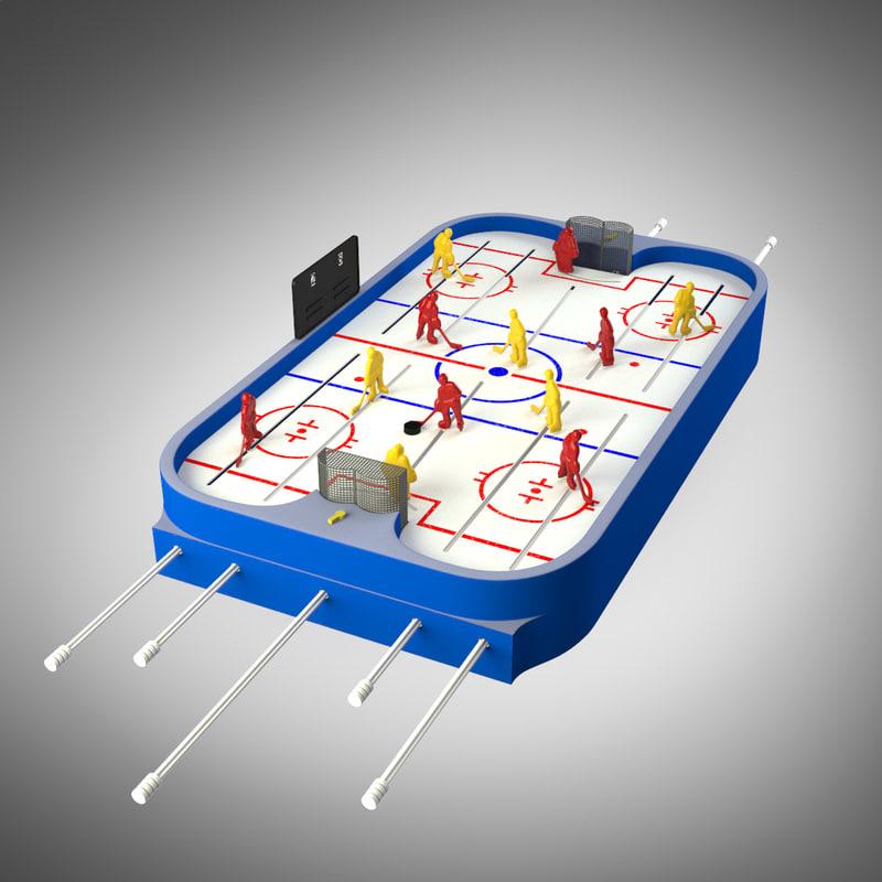 max table hockey