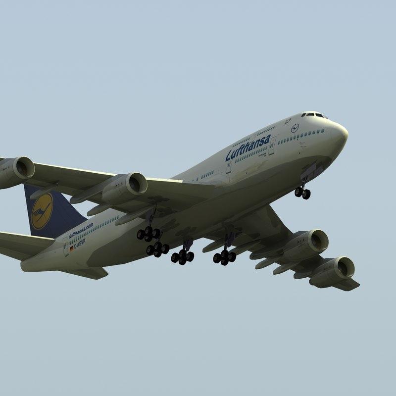 3ds boeing 747-400 jumbo jet