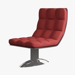 3d swivel chair model