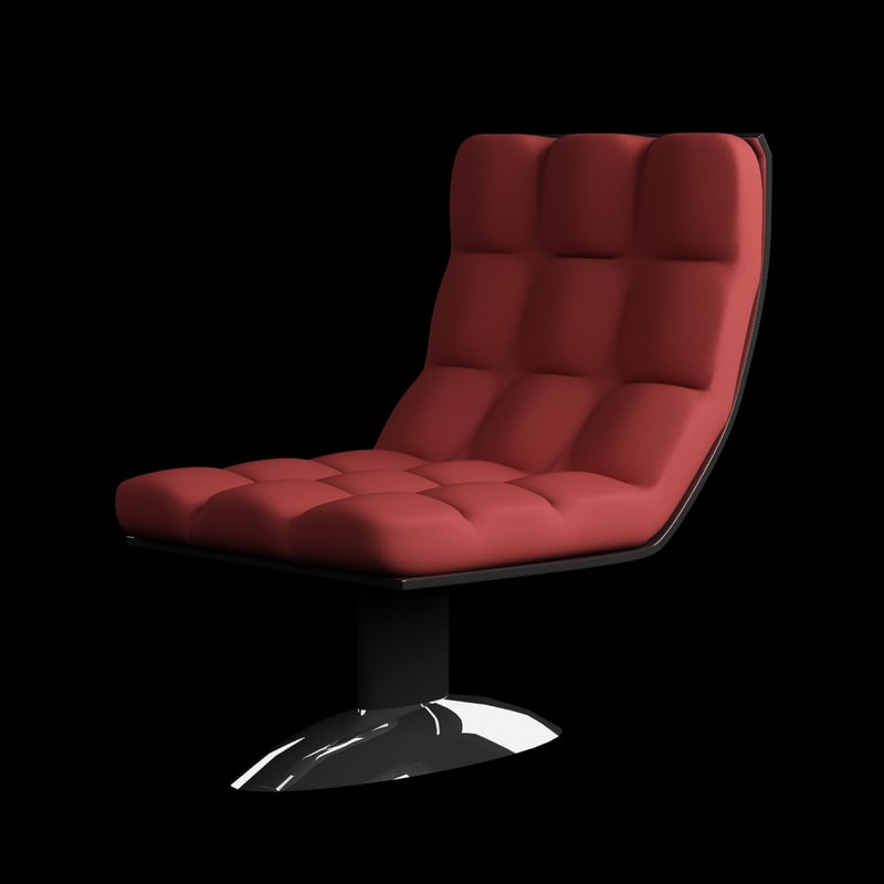 3d swivel chair model