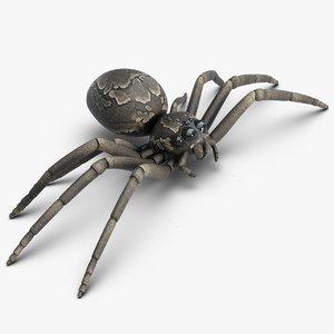 3d model spider 2