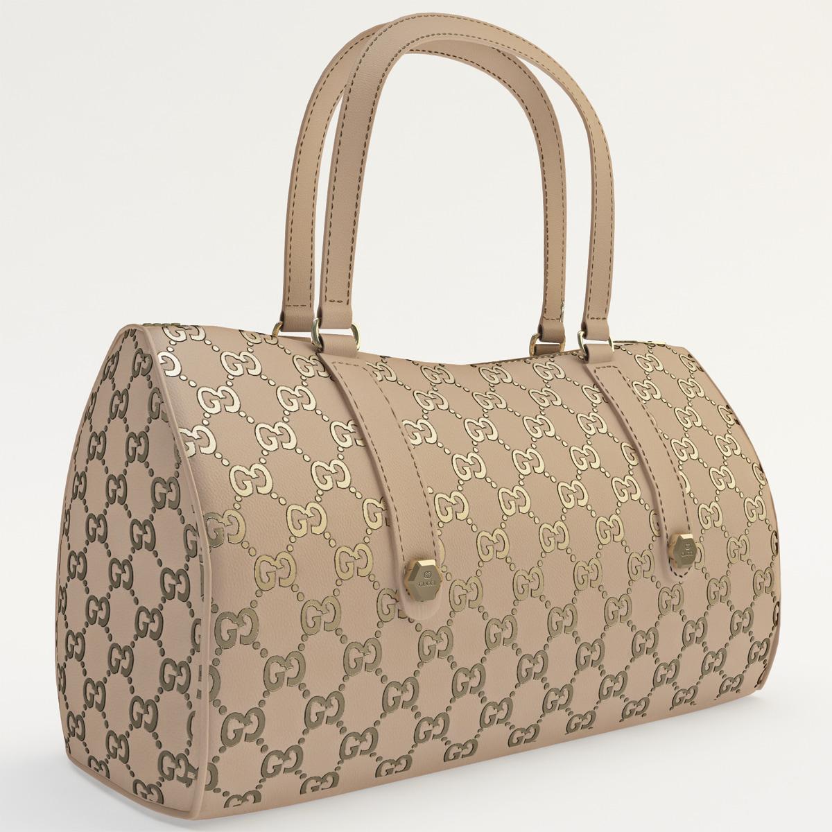 3d woman handbag 2