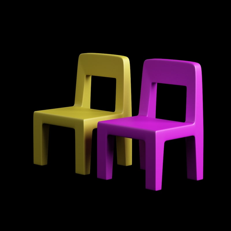 children chair plastic