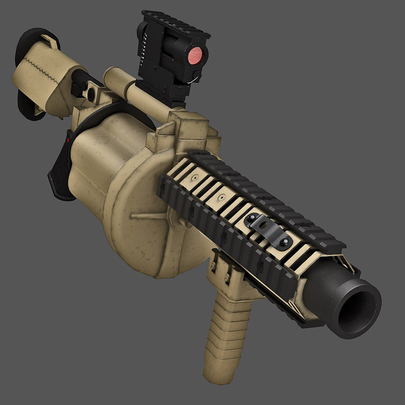 m32 grenade launcher rigged