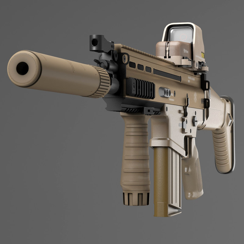 assault rifle fn scar-h max