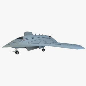 x47b bomber 3d model