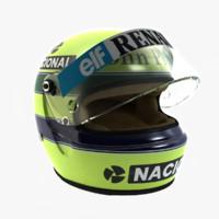 Ayrton Senna Helmet 1985