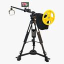 camera crane 3D models
