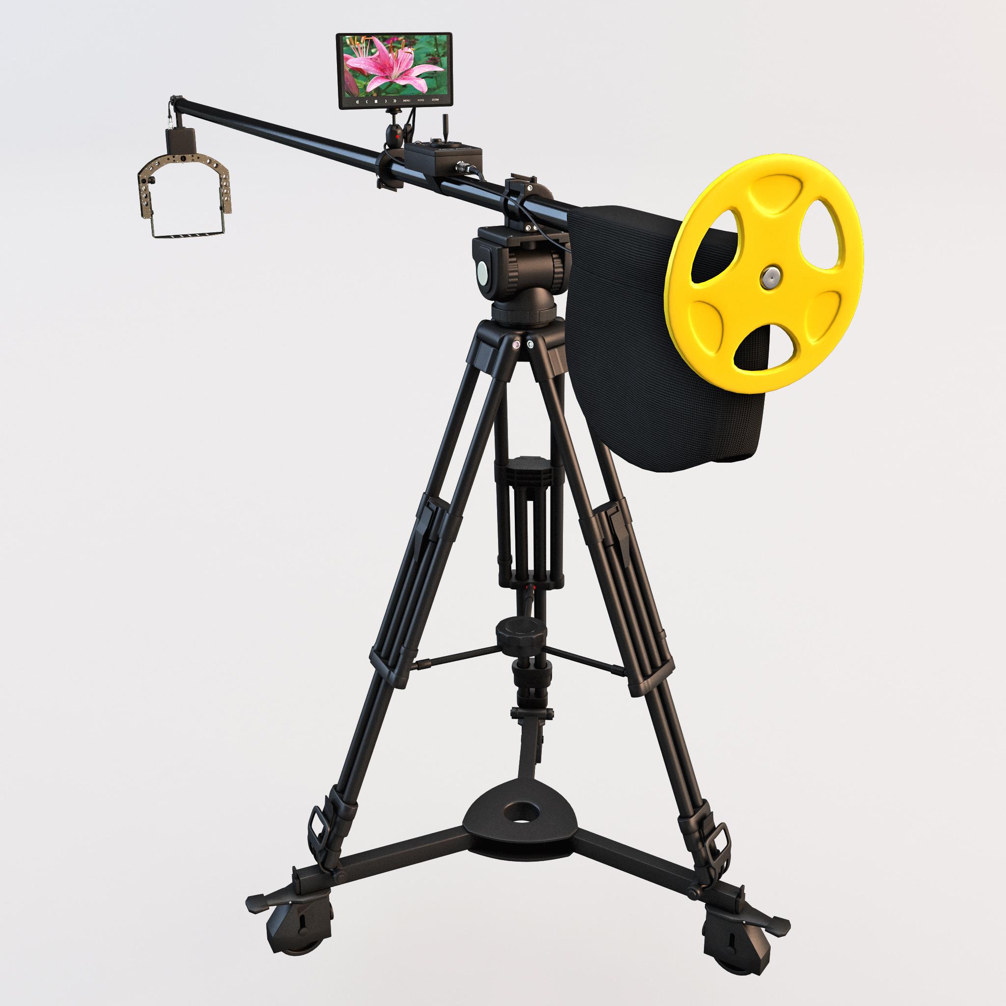 3d camera crane polecam