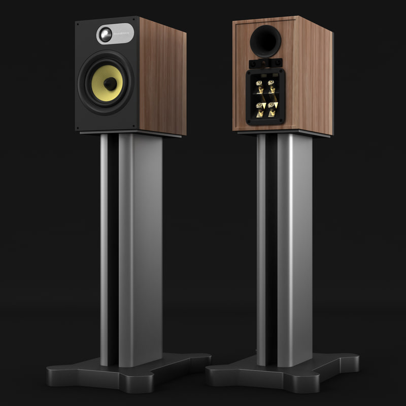 bowers wilkins 686 3d obj