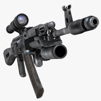 Kalashnikov AK-103 Assault Rifle Russia