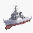 USS Arleigh Burke 3D models