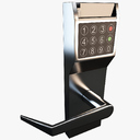 Keycard lock 3D models