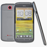 black htc s cell phone 3d 3ds