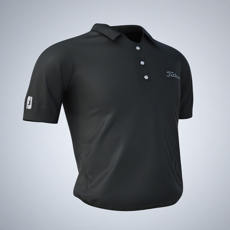 3d model - titleist golf shirt