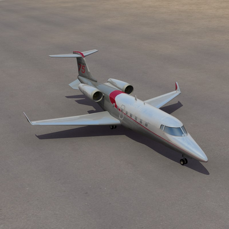 learjet 75 private jet max
