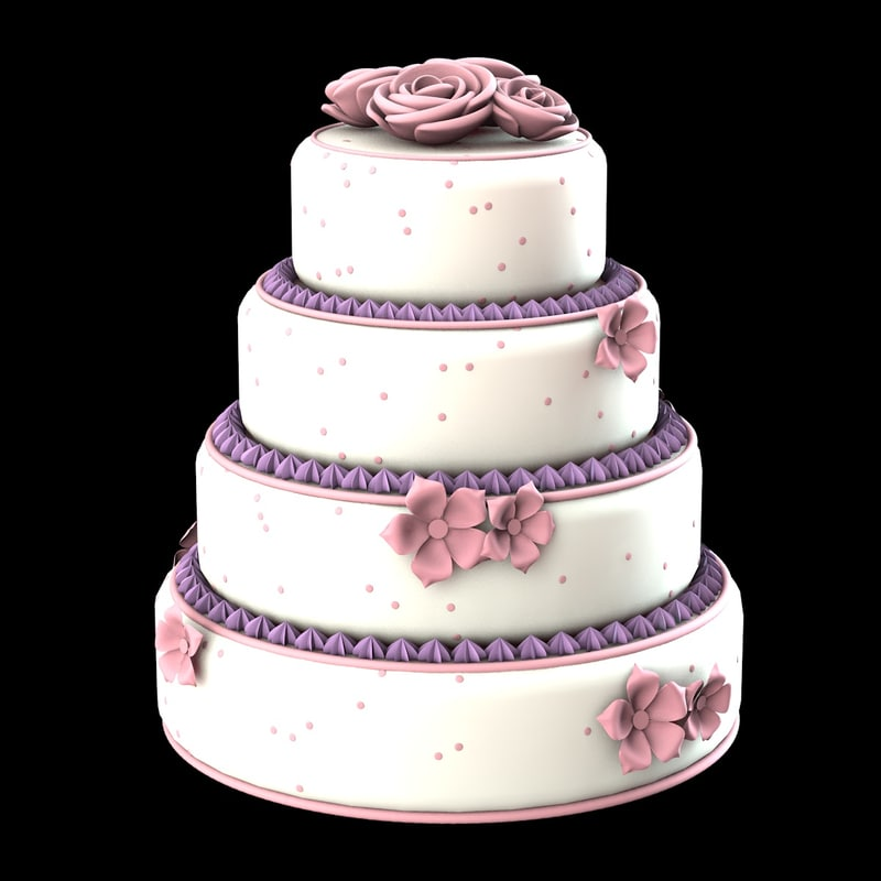 3ds max cake weddings