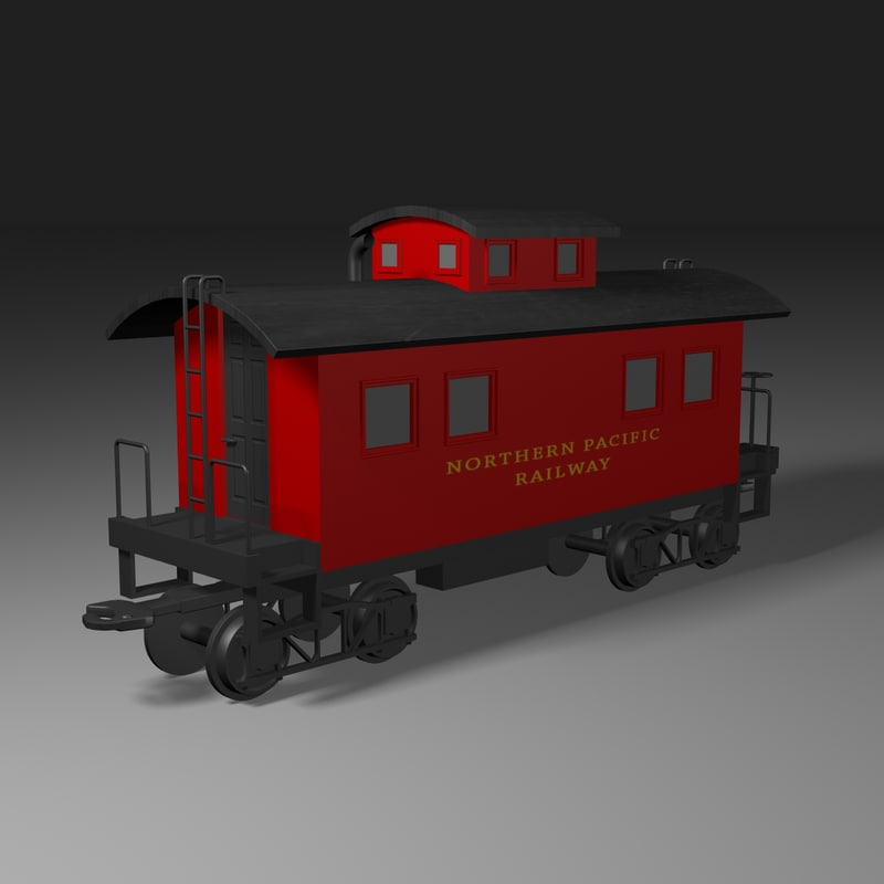 lwo caboose train