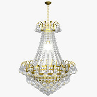 3d max chandelier lighting