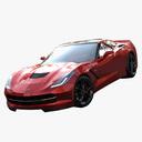 Corvette 3D models