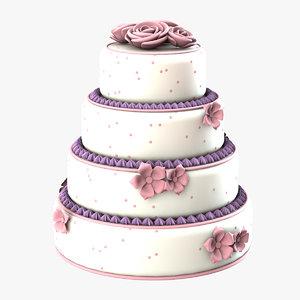 3ds max cake weddings