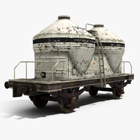 3ds max tank wagon