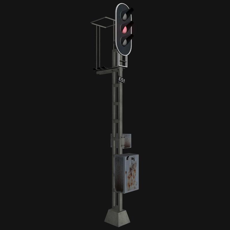 railway traffic light max