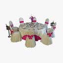 wedding table 3D models
