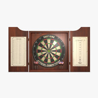 darts board 3d 3ds