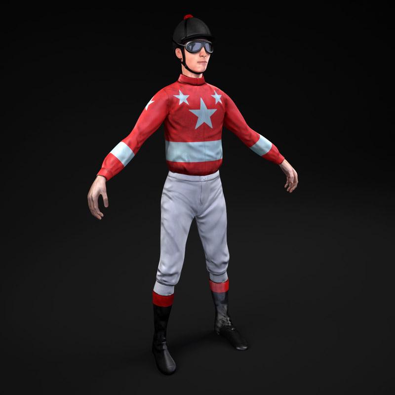 3d jockey