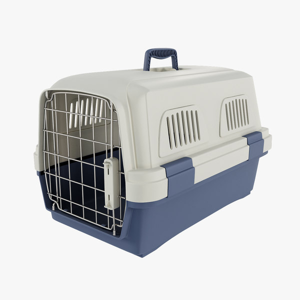 3d model pet carrier