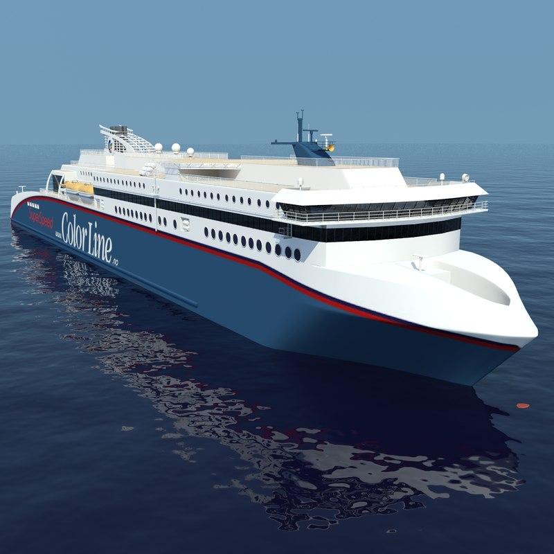 3d cruise ferry