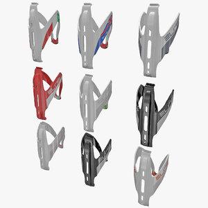 3d model bicycle bottle cages elite