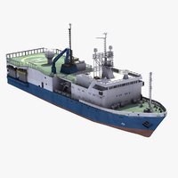 Oil Survey Ship