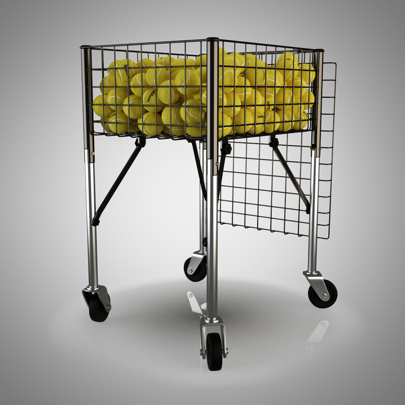 3d wilson tennis ball cart