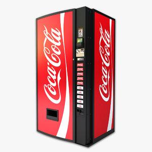 soda machine obj