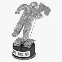 3d mtv award 2 model