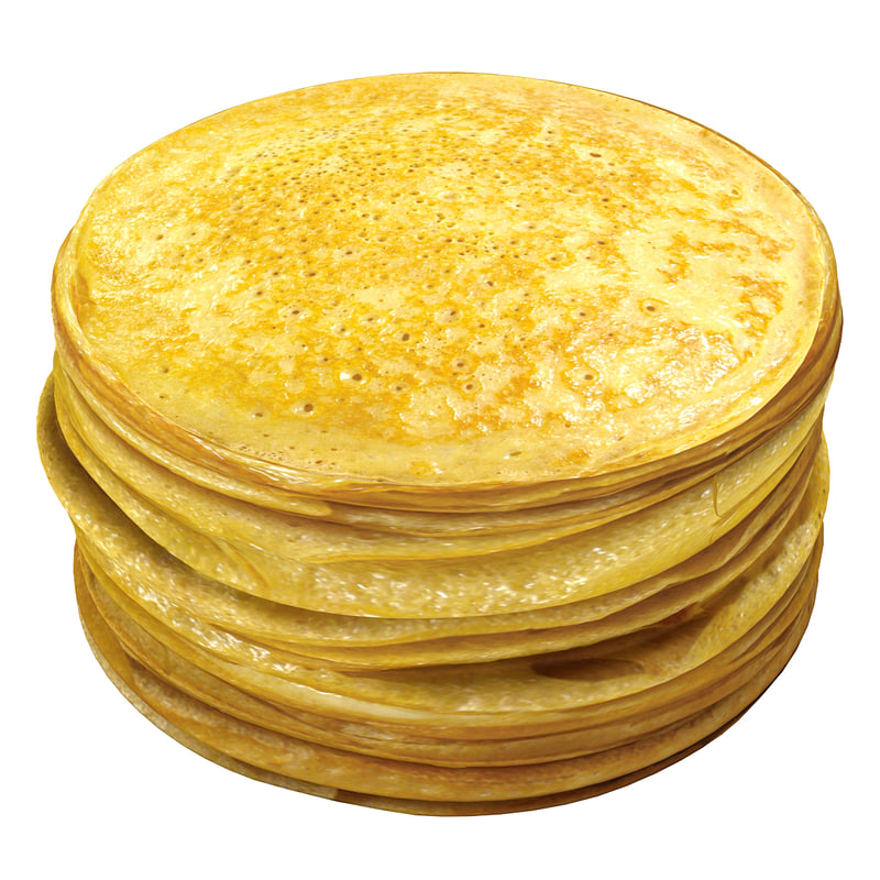 pancakes 2 3d max