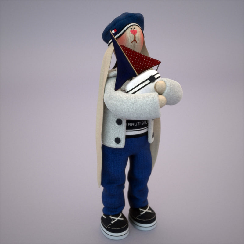 toy sailor bunny