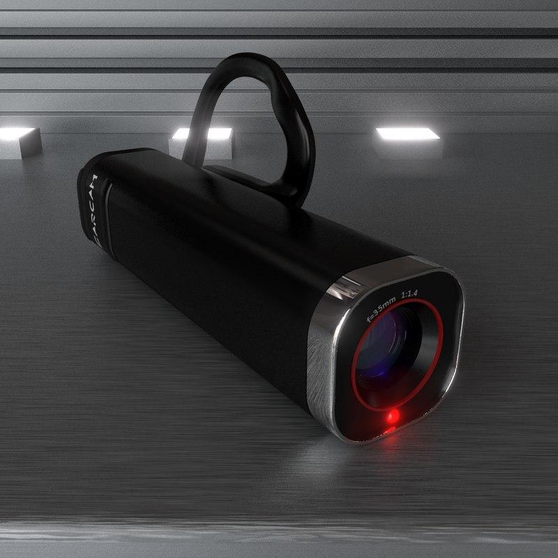 3d ear video camera