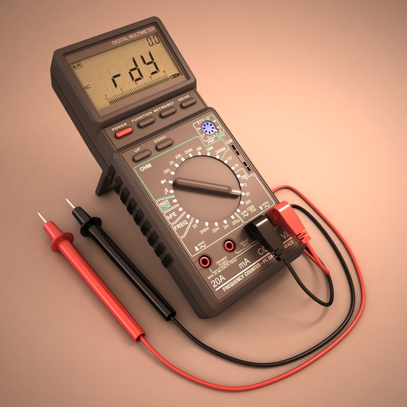 digital multimeter max