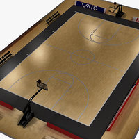 3d 3ds basketball court