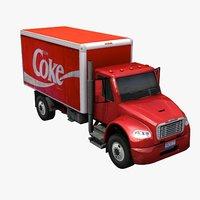 coke delivery truck max